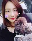 소녀시대SNSD 태연, 반려견과 함께 행복한 시간…'노멀크러시한 일상'