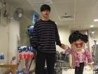 '집사부일체' 육성재, 홍콩 멜로디에게 감사 인증샷 공개…'행복한 성재'