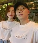 """김수미, 남편 개코와 커플티 입고…""""세상 쑥스러우니까 떨어져서 걷자"""""""