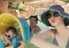 '여자플러스2' 이현이, 가족들과 행복한 여행…'그의 훈남 남편은 누구?'