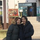 탤런트 박지영, 동생 박혜진과 투샷 눈길…'나이 차이 안 느껴지는 외모'