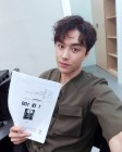 """민우혁, '1대 100' 본방사수 독려샷 공개 """"오늘 저녁 기대해주세요"""""""