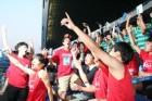 다시 외친 '대한민국'……태극전사에 박수