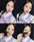 '아육대' 볼링 대활약 솔빈 사진 화제