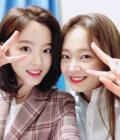 """'런닝맨' 강한나-전소민, 다정하게 브이 """"둘다 귀엽네"""""""