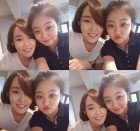 곽민정, 윤하와 다정한 친분샷…걸그룹 뺨치는 '깜찍 미모'