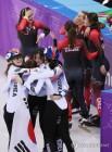 [With 평창]캐나다 실격, 쇼트트랙 여자 3000m 계주 첫 노메달 '억울함 호소'
