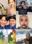 '컬링 결승전' ★들의 응원…'눈물' 유병재부터 '패러디' 정은지까지