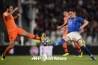 '장군멍군' 이탈리아-네덜란드, 1-1 무승부