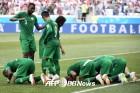 '유종의 미' 사우디, 월드컵 승리는 '24년 만'