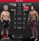 [UFC] 김동현 약속 지켰다! 1R '고미 피니시 성공'