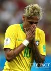 네이마르 침묵 삼바군단 40년 만에 월드컵 1차전 승리 실패