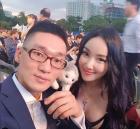 """낸시랭, 남편과 함께 영화제 행사 참석 """"훈훈한 금슬 눈길"""""""