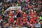 러시아 월드컵 개막식에 등장한 축구 영웅 '호나우두'