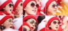 [포토] 북측 응원단, 각양각색 선글라스