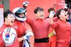 '청력 극복' 김동현 활약, 봅슬레이 4인승 사상 첫 은메달