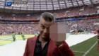 로비 윌리엄스, 러시아 월드컵 개막식서 카메라에 손가락 욕설