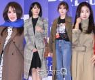 [스냅샷Q] 엄정화·이정현·전소미·김사랑 '봄을 부르는' 겨울 나들이 패션
