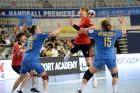 女 핸드볼, 우크라이나 꺾고 전승 우승…남자부는 준우승