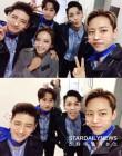 손호영-휘성-허영생-정대현-박정아, 뮤지컬 '올슉업' 대기실 셀카 공개