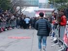 [S포토] 자리를 벗어나 NCT 뒤를 따르는 일부 팬들 뮤직뱅크 출근길