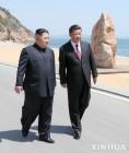 북-중, 쌍중단 '축배' 들었나…김정은, '보험경협'챙기고  시진핑, 무역전쟁 '협상카드' 만들어
