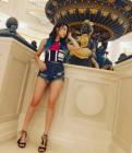 """'차세대 바비인형' 시스타 보라 전신사진 재조명…""""탄력적 몸매에 섹시한 각선미"""""""