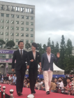 배우 박리디아, 과감한 탈코르셋 패션으로 부천국제영화제 레드카펫 점령