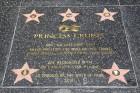 프린세스 크루즈, 할리우드 명예의 거리 입성