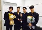 """'뉴이스트W' 강동호(백호), 첫 지상파 1위에 """"고맙습니다"""""""