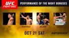 UFC '5만달러' 보너스 주인공 발표…틸·블라코비치, '퍼포먼스 오브 더 나이트'