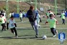 '레전드' 김병지, 최진철 소외계층 아이들과 축구클리닉