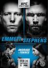 '에밋 vs 스티븐스' UFC on FOX 28 포스터 전격 공개