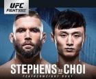 UFC 최두호-스티븐스 대결, 팬들이 뽑은 '1월의 경기' 압도적 1위 질주