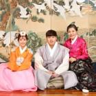 박술녀, 류현진-배지현 결혼식 한복 제작…'선남선녀'