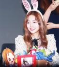 [GET포토] 크리샤츄(Kriesha Chu), '귀여운 츄가 들어간 팬들의 선물'