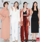 김혜수·이하늬·설리·이솜, 매혹적인 모노크롬 패션 열전 '자체발광'