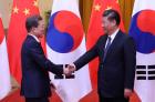 [文중국방문] '한반도 비핵화·전쟁불가' 4대 원칙 합의