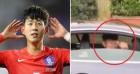 웨스트햄 팬의 인종차별에도 '엄지척'하며 쿨하게 대처한 손흥민 (영상)