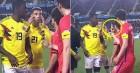 째진 눈으로 동양인 비하했던 콜롬비아 선수에게 기성용이 'V'를 그린 이유