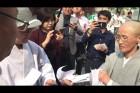 '단식 7일' 비구니 스님에게 집단으로 찾아온 호법부