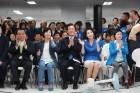 이재명 후보 개소식, 4,000여 인파 '문전성시'
