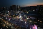 서울 밤에도 20도… 멕시코戰 길거리 응원 '선선'