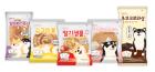 롯데제과 '시로앤마로' 캐릭터빵 5종 출시