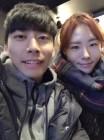 """이상화, 절친 곽윤기와 '다정한 한때'...""""오랜만이야"""""""
