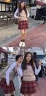 '모두의 연애' 이시아, 촬영장 교복 인증샷 공개 '상큼해'