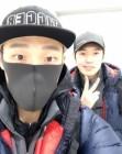 깜짝 동메달 김태윤, 모태범과 다정한 셀카 '훈훈해'