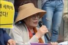 """이용수 할머니 """"위안부 합의 옹호한 강은희 대구교육감 후보 사퇴해야"""""""
