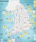 기상청 내일날씨 및 주간날씨 예보, 서울, 부산, 대구, 대전, 광주 등 전국 비..황사 주의 미세먼지 '한때 나쁨'
