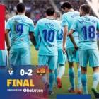 바르셀로나, 에이바르에 2-0으로 승리...리그 무패 행진 지속